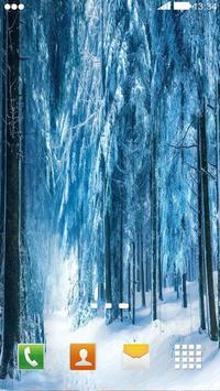 Snowfall Wallpaper : HD Wallpaper poster