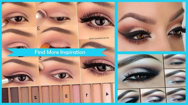 Prom Smokey Eye Makeup Tutorial screenshot 1