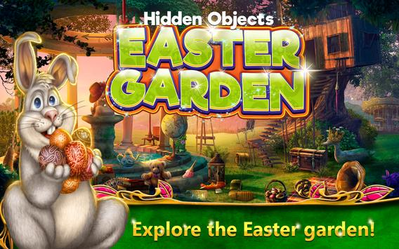 Hidden Objects Easter Garden poster