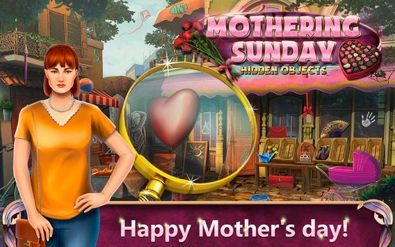 Hidden Objects Mothering Sunday poster
