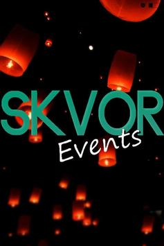 SKVOR Events poster