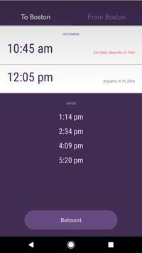 Purple Train poster