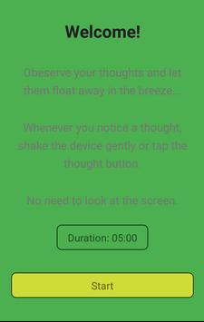 Thought Breeze Meditation poster