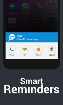 Thought - Calls & Reminders apk screenshot