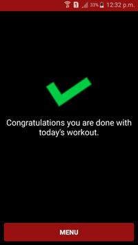 Daily Workout three Exercises screenshot 3