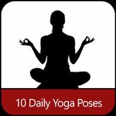 Ten Daily Yoga Poses : Daily 10 Yoga Poses icon