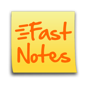 FastNotes Sticky Note Widget icon