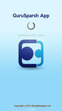 GuruSparsh app poster