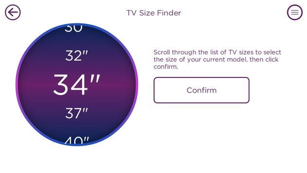 CurrysPCWorld TV Size Finder apk screenshot