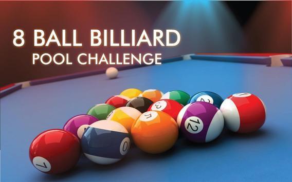 8 Ball Billiard Pool Challenge: Snooker Game poster
