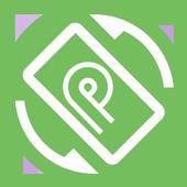 Icona Android P Rotation