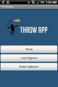 ThrowApp poster