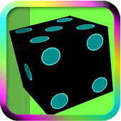 Throw the Neon Dice LWP icon