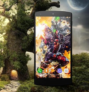 HD Wallpaper For Deadypool Fans screenshot 2