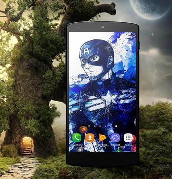 HD Wallpaper For Captain America Fans screenshot 3