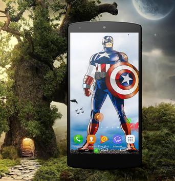 HD Wallpaper For Captain America Fans poster