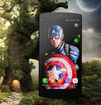 HD Wallpaper For Captain America Fans screenshot 1