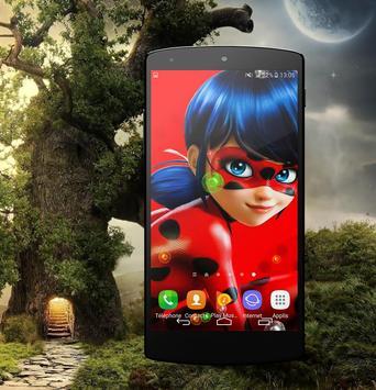 HD Ladybug Wallpaper poster