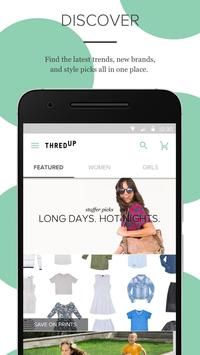 thredUP - Shop + Sell Clothing poster