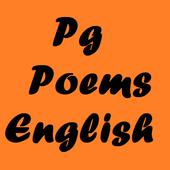 Pg Poems English icon