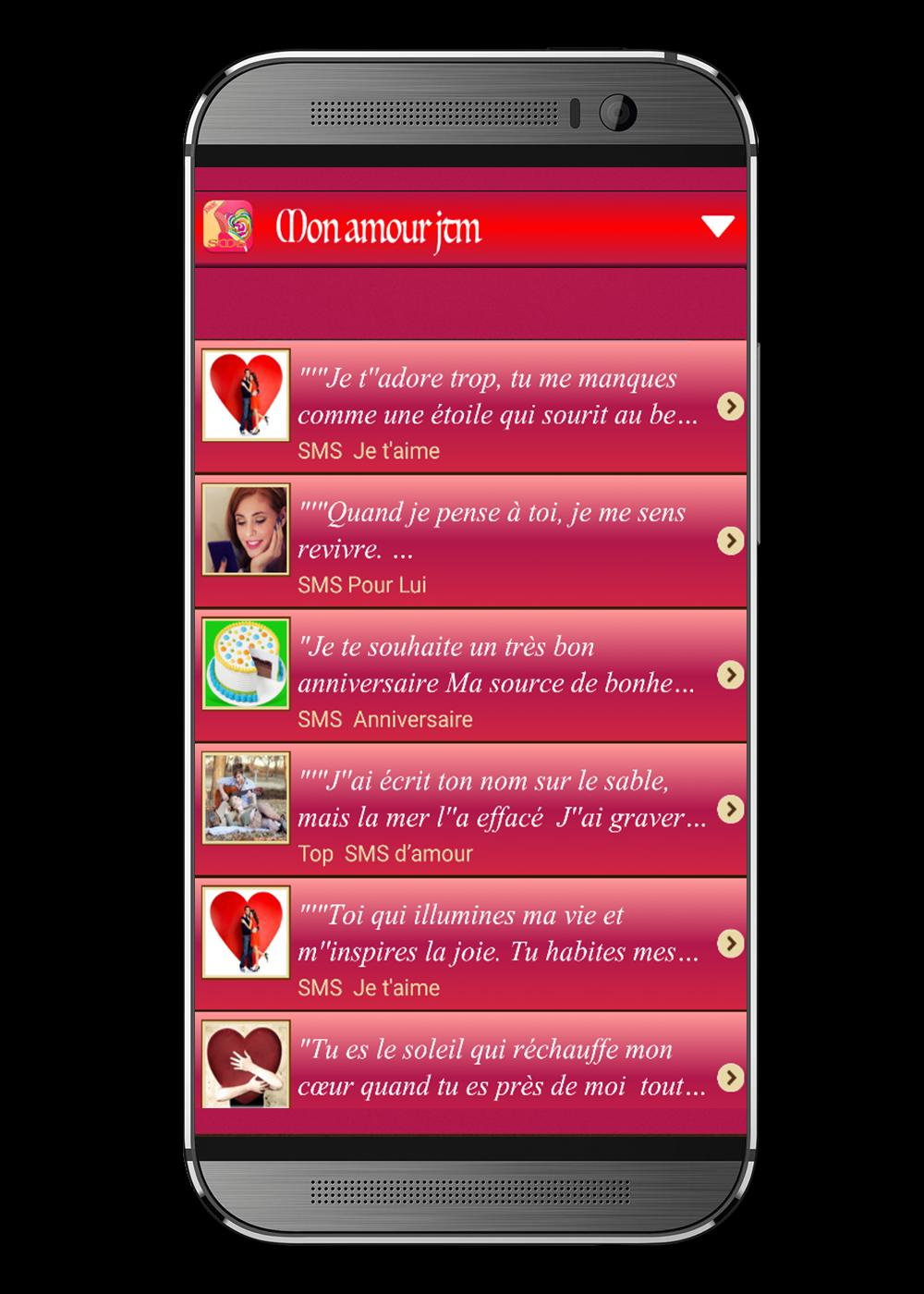 Sms Damour Damitié Et Fête For Android Apk Download