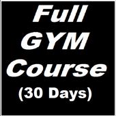 Gym Course 30 days icon