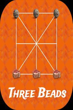 Three Bead poster