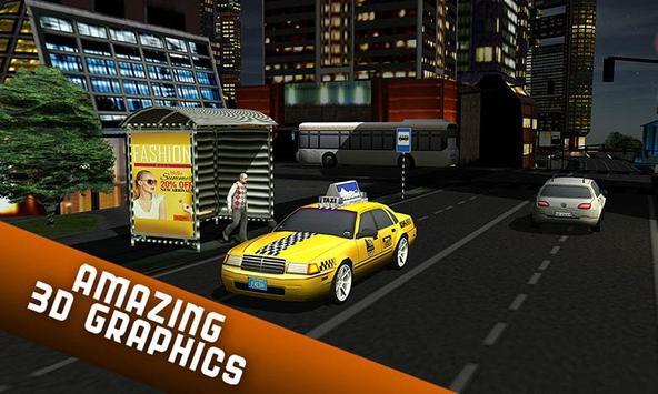 Taxi Driver 2017 - USA City Cab Driving Game screenshot 3