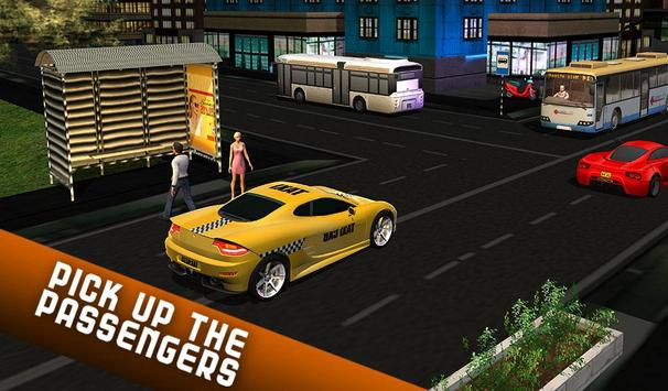 Taxi Driver 2017 - USA City Cab Driving Game screenshot 12