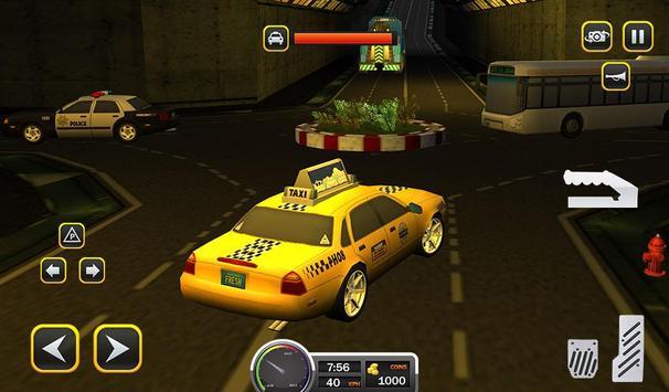 Taxi Driver 2017 - USA City Cab Driving Game screenshot 13