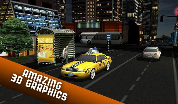 Taxi Driver 2017 - USA City Cab Driving Game screenshot 15