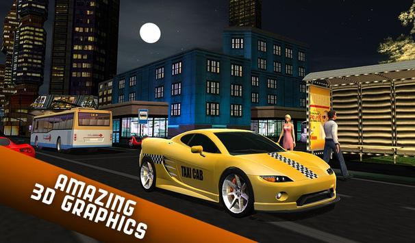 Taxi Driver 2017 - USA City Cab Driving Game apk screenshot