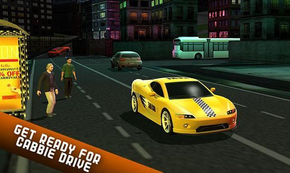 Taxi Driver 2017 - USA City Cab Driving Game screenshot 2