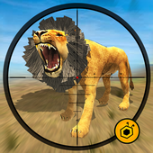 Life of Animals Jungle Survival - Lion Shooting icon