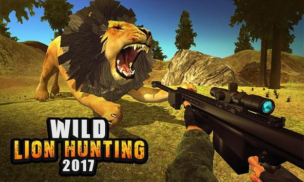 Life of Animals Jungle Survival - Lion Shooting poster