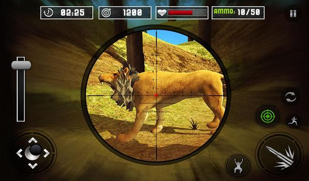 Life of Animals Jungle Survival - Lion Shooting screenshot 11