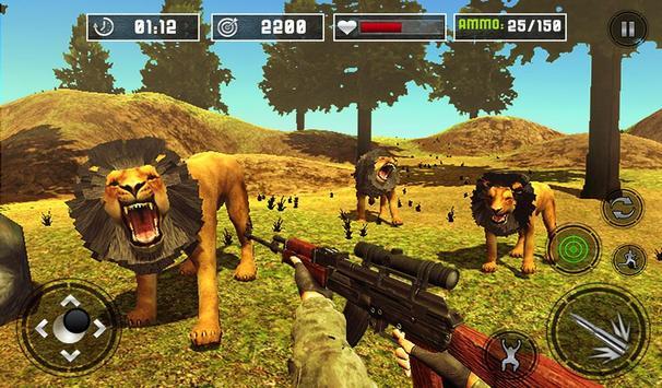 Life of Animals Jungle Survival - Lion Shooting screenshot 12