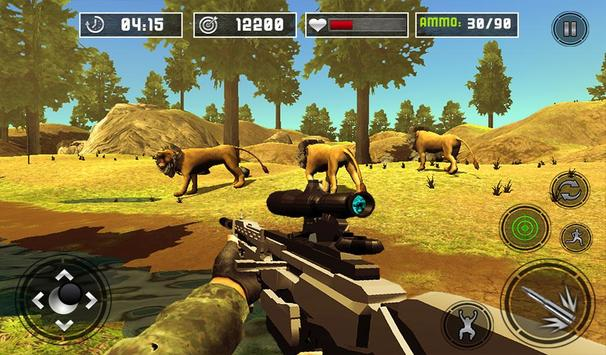 Life of Animals Jungle Survival - Lion Shooting screenshot 13