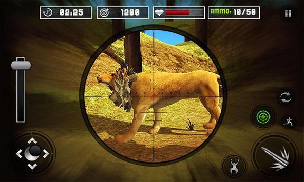 Life of Animals Jungle Survival - Lion Shooting screenshot 1