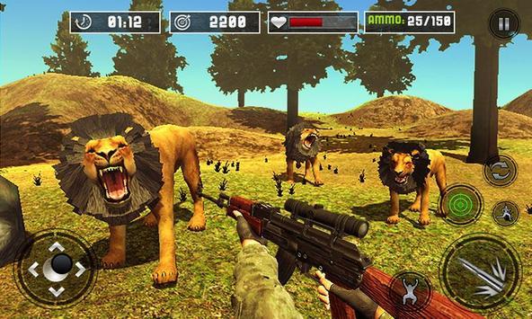 Life of Animals Jungle Survival - Lion Shooting screenshot 2
