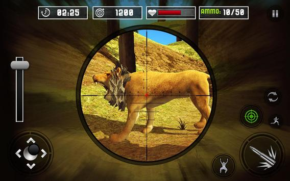 Life of Animals Jungle Survival - Lion Shooting screenshot 6