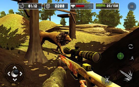 Life of Animals Jungle Survival - Lion Shooting screenshot 9