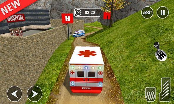 Ambulance rescue simulator 2017 - 911 city driving screenshot 5