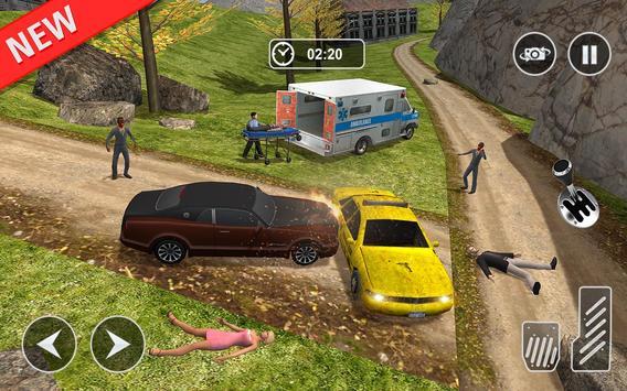 Ambulance rescue simulator 2017 - 911 city driving screenshot 7