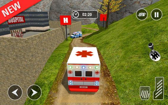 Ambulance rescue simulator 2017 - 911 city driving screenshot 12