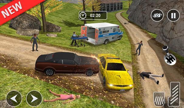 Ambulance rescue simulator 2017 - 911 city driving screenshot 14