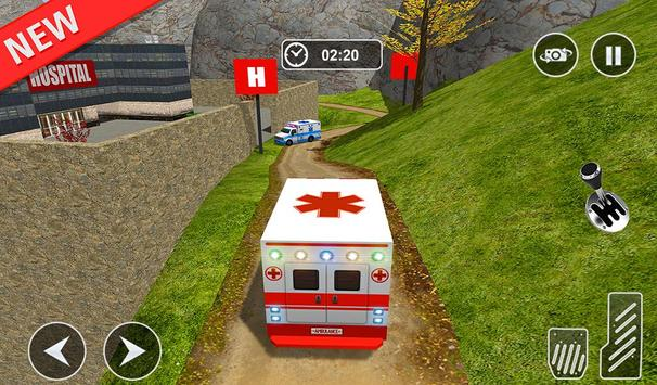 Ambulance rescue simulator 2017 - 911 city driving screenshot 19
