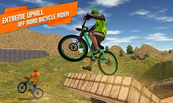 BMX Offroad Bicycle rider Superhero stunts racing screenshot 3