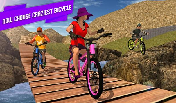 BMX Offroad Bicycle rider Superhero stunts racing screenshot 11