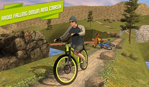 BMX Offroad Bicycle rider Superhero stunts racing screenshot 12
